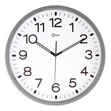 Orium Silent Reloj de pared magnético Silver Reloj magnético con un diámetro de 25 cm