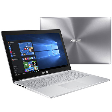 "ASUS ZenBook UX501VW-FY104T Intel Core i7-6700HQ 8 Go SSD 256 Go 15.6"" LED Full HD NVIDIA GeForce GTX 960M Wi-Fi AC/Bluetooth Webcam Windows 10 Famille 64 bits (garantie constructeur 2 ans)"