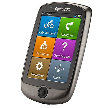"Mio Cyclo 200 GPS spécial cycliste 23 pays d'Europe écran 3.5"" étanche"