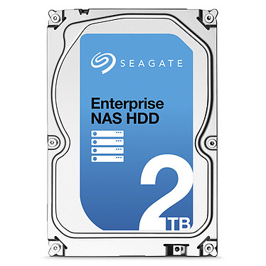 Seagate Enterprise NAS HDD 2 To