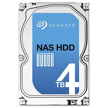 "Seagate NAS HDD 4 To (+Rescue) Disque dur 3.5"" 4 To 5900 RPM 64 Mo Serial ATA 6 Gb/s (bulk)"