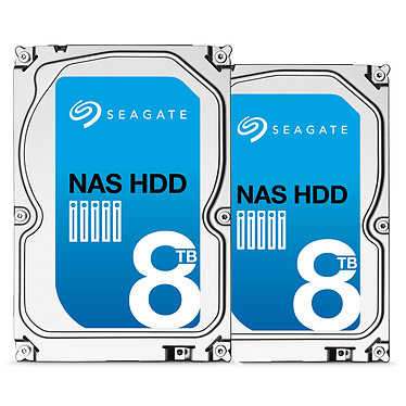 Pack Seagate NAS HDD 16 To (2x 8 To)