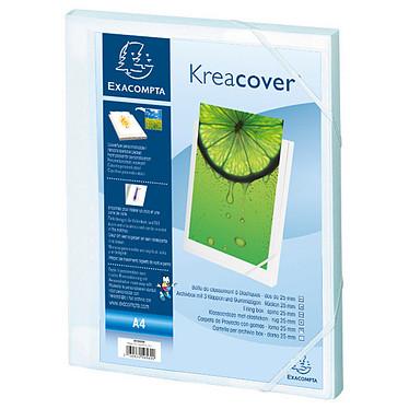 Exacompta boite de classement Krea Cover dos 25 mm Blanc