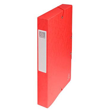 Exacompta boites de classement Exabox dos 40 mm Rouge x 8