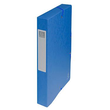Exacompta boites de classement Exabox dos 40 mm Bleu x 8