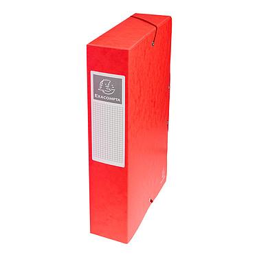 Exacompta boites de classement Exabox dos 60 mm Rouge x 8