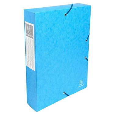 Exacompta boites de classement Exabox dos 60 mm Turquoise x 8