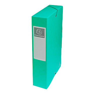 Exacompta boites de classement Exabox dos 60 mm Vert x 8