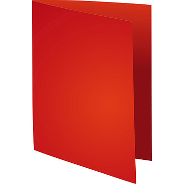 Exacompta Sous chemises Forever 80g Rouge x 100