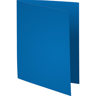 """Exacompta Sous chemises Forever 80g Bleu foncé x 100 Lot de 100 sous chemises """"Flash 80"""" en carte recyclée 80g format A4 bleu foncé"""