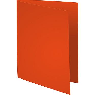 """Exacompta Sous chemises Forever 220g Orange x 100 Lot de 100 sous chemises """"Flash 220"""" en carte recyclée 220g format A4 Orange"""