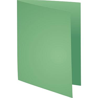 """Exacompta Chemises Forever 170g Vert pré x 100 Lot de 100 chemises """"FOLDYNE 170"""" en carte recyclée 170g format 24 x 32 cm Vert pré"""