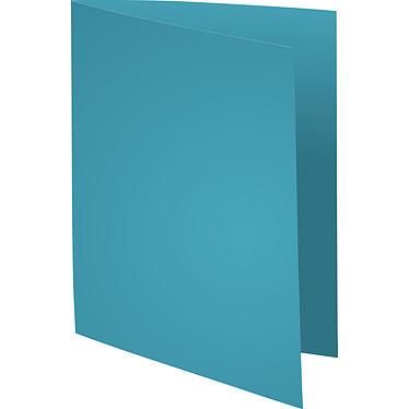"""Exacompta Chemises Forever 170g Bleu clair x 100 Lot de 100 chemises """"FOLDYNE 170"""" en carte recyclée 170g format 24 x 32 cm bleu clair"""