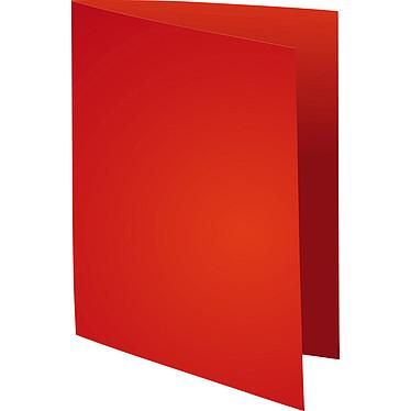 "Exacompta Chemises Forever 170g Rouge x 100 Lot de 100 chemises ""FOLDYNE 170"" en carte recyclée 170g format 24 x 32 cm rouge"