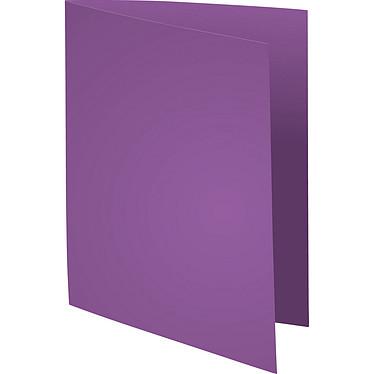 "Exacompta Chemises Forever 170g Violet x 100 Lot de 100 chemises ""FOLDYNE 170"" en carte recyclée 170g format 24 x 32 cm violet"