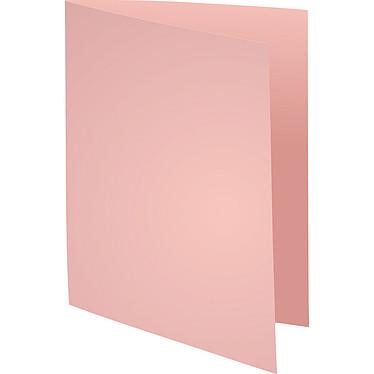 Exacompta Sous chemises Bengali 60g Rose x 250 Lot de 250 sous chemises en carte 60g format 22 x 31 cm rose