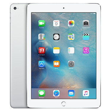 "Apple iPad Air 2 128 Go Wi-Fi Argent Tablette Internet - Apple A8X 1.4 GHz 1 Go SSD 128 Go 9.7"" LED tactile Wi-Fi N/Bluetooth Webcam iOS 8"
