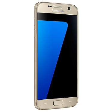 "Samsung Galaxy S7 SM-G930F Or 32 Go · Reconditionné Smartphone 4G-LTE Advanced IP68 - Exynos 8890 8-Core 2.3 Ghz - RAM 4 Go - Ecran tactile 5.1"" 1440 x 2560 - 32 Go - NFC/Bluetooth 4.2 - 3000 mAh - Android 6.0"