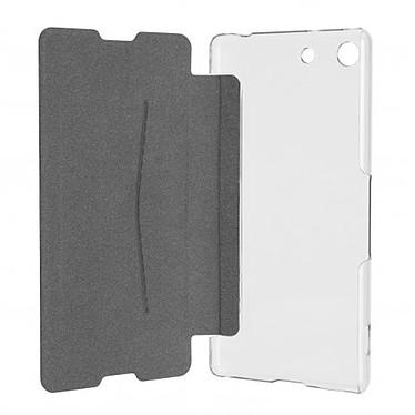 xqisit Etui Flap Cover Adour Noir Sony Xperia M5 pas cher