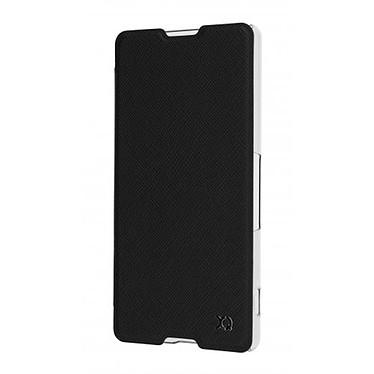Avis xqisit Etui Flap Cover Adour Noir Sony Xperia M5