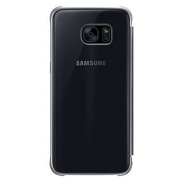Acheter Samsung Clear View Cover Noir Samsung Galaxy S7 Edge