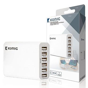 Avis Multi chargeur USB 10A 50W (6 ports)