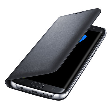 Avis Samsung LED View Cover Noir Samsung Galaxy S7 Edge