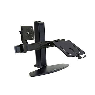 """Ergotron Neo-Flex Combo Support de bureau pour moniteur LCD 20"""" et ordinateur portable"""
