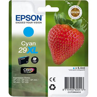 Epson 29XL Cyan Cartouche d'encre Cyan (6.4 ml / 450 pages)