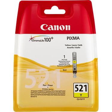 Canon CLI-521Y Blister Cartouche d'encre jaune (9 ml)