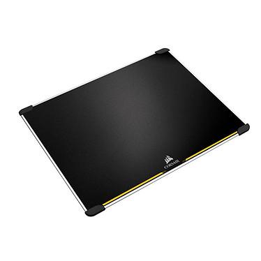Corsair Gaming MM600 Tapis de souris gaming - rigide - surface en aluminium - réversible (surface rapide / surface précise) - format moyen (352 x 272 x 5 mm)