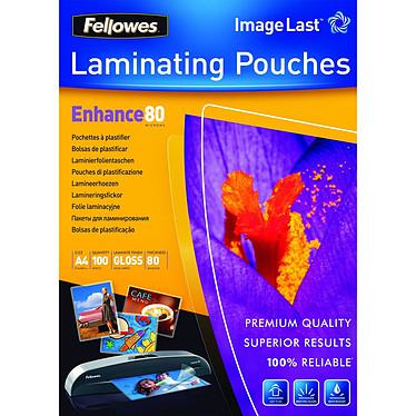 Fellowes Pochettes brillantes A4 80µ x 100