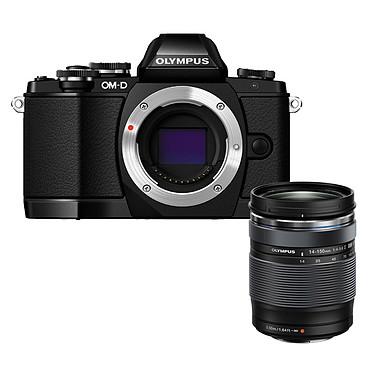 "Olympus E-M10 Noir + 14-150mm II Appareil photo hybride 16.1 MP - Ecran tactile orientable 3"" - Vidéo Full HD - Stabilisation 3 axes - Wi-Fi + M.ZUIKO DIGITAL ED 14-150mm 1:4.0-5.6 II"