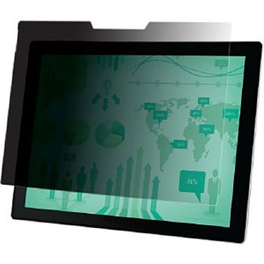 """3M PFTMS001 Filtre de confidentialité paysage pour écran Microsoft Surface Pro 3 / Pro 4 13.7"""" - 16/9"""