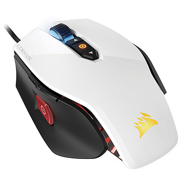 Corsair Gaming M65 RGB Laser Blanc