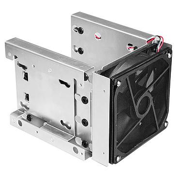 """Lian-Li EX-36A2 Adaptador para 4 x 3.5"""" y 2 x 2.5"""" discos duros con ventilador y filtro en 3 x 5.25"""" bahías"""