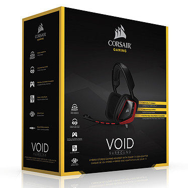 Avis Corsair Gaming VOID Surround Hybrid 7.1