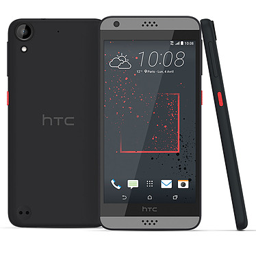 "HTC Desire 530 Anthracite Smartphone 4G-LTE - Snapdragon 210 Quad-Core 1.1 Ghz - RAM 1.5 Go - Ecran tactile 5"" 720 x 1280 - 16 Go - NFC/Bluetooth 4.1 - 2200 mAh - Android 6.0"