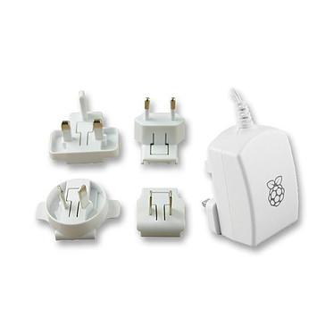 Raspberry Pi 3 Power Supply 5.1V 2.5A Blanc