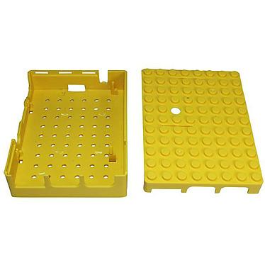 Acheter Multicomp Pi-Blox boitier pour Raspberry Pi 1 Model B+ / Pi 2/3 (jaune)