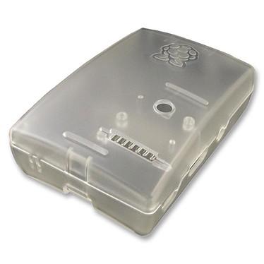 Multicomp boitier pour Raspberry Pi 1 Model B+ / Pi 2/3 (transparent) Boîtier en plastique pour carte Raspberry Pi 1 Model B+ / Pi 2/3