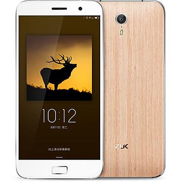 """ZUK Z1 AOK Edition Blanc/Bois Smartphone 4G-LTE Dual SIM avec écran tactile Full HD 5.5"""" sous Cyanogen 12.1"""