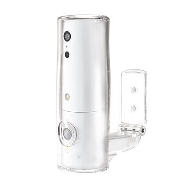 Amaryllo iSensor HD Patio Blanc Caméra réseau cube extérieure jour/nuit autonome sans fil (Wi-Fi N)