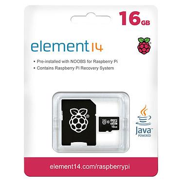 Raspberry carte microSDHC 16 Go avec NOOBS