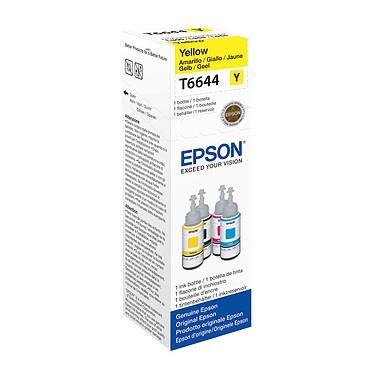 Epson T6644 Bouteille d'encre Jaune (70 ml / 6500 pages)