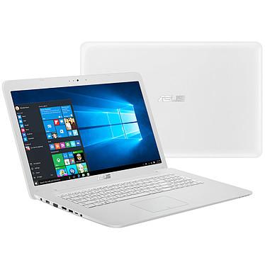 """ASUS K756UB-TY083T Blanc Intel Core i5-6200U 6 Go 1 To 17.3"""" LED HD+ NVIDIA GeForce 940M Graveur DVD Wi-Fi N/Bluetooth Webcam Windows 10 Famille 64 bits (Garantie constructeur 2 ans)"""