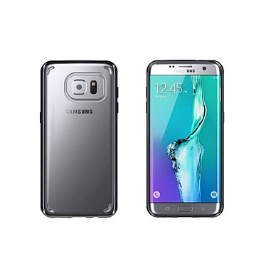 Griffin Reveal Clear Noir Galaxy S7 Edge Coque de protection pour Samsung Galaxy S7 Edge