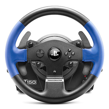 thrustmaster t150 force feedback volant pc thrustmaster sur. Black Bedroom Furniture Sets. Home Design Ideas
