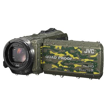 JVC GZ-R415 Camouflage + Carte SDHC 8 Go