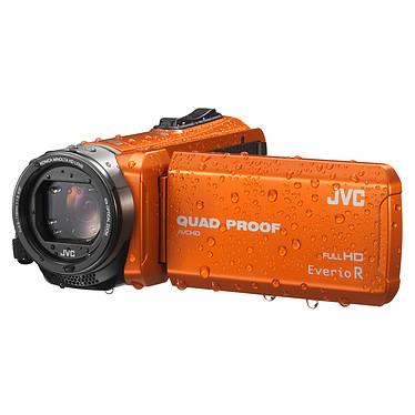 JVC GZ-R415 Orange + Carte SDHC 8 Go